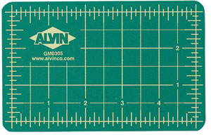 Alvin Professional Cutting Mat Green 18x24