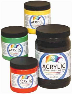 Acrylic screen ink