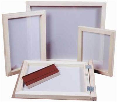 Screenprinting Frame with Fabric 10X14