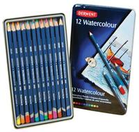 Derwent Watercolor Pencil 12 Set in Tin