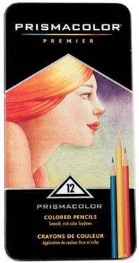 Prismacolor Premier Colored Pencil Set 12 Original Colors