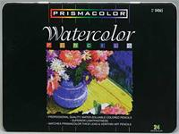 Prismacolor Watercolor Pencil 24 Color Tin