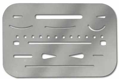 Stainless Steel Erasing Shield
