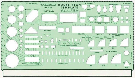 Template Professional House Plan