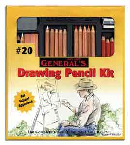 Drawing/Sketching 21pc Kit