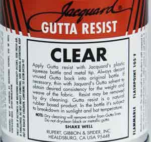 jacquard gutta resist 4 oz black