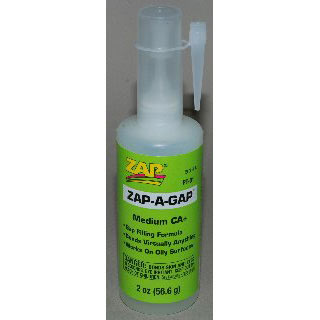 Zap-A-Gap Medium Ca+, 1/2 oz